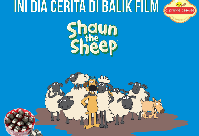 kue shaun the sheep