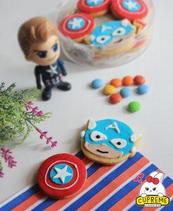 Cookies Captain America (Copy)
