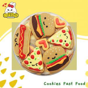12 Cookies Fast Food