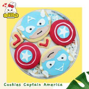 7 Cookies Captain America